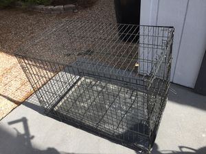 Animal crate! Folds up, great for your dog! for Sale in Las Vegas, NV