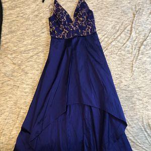 Aidan Mattox Blue High Low Dress From Saks Fifth Avenue for Sale in Chandler, AZ