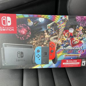 Nintendo Switch Mario Kart Console Bundle for Sale in Fort Lauderdale, FL