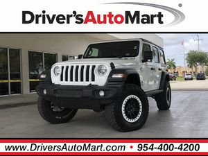 2019 Jeep Wrangler Unlimited for Sale in Davie, FL