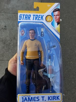 Star Trek Captain Kirk The Original Series Action Figure for Sale in San Francisco, CA