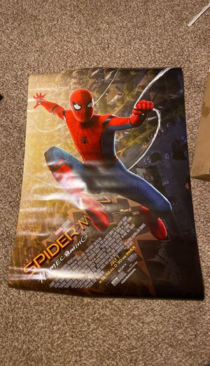 Spider-Man Homecoming Authentic Movie Poster for Sale in Lakewood, CO