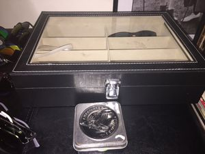 Sunglasses case, pocket watch with portable glasses case for Sale in Chicago, IL
