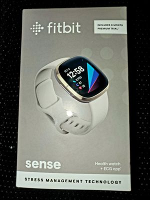 FITBIT SENSE HEALTH WATCH + ECG APP STRESS MANAGEMENT TECHNOLOGY BRAND NEW NEVER OPENED OR USED for Sale in Fort Collins, CO