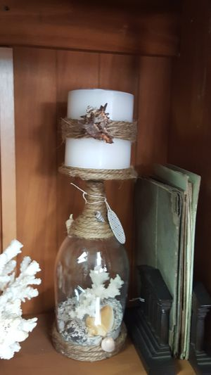 Seashell candle holder for Sale in Lake Alfred, FL