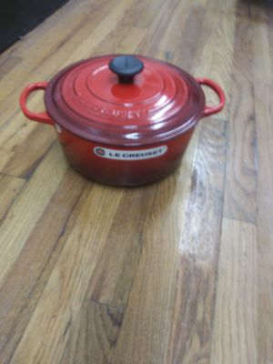 "L""onginale Cast iron expensive cookware retails for $250 will sale for $100 for Sale in Denver, CO"