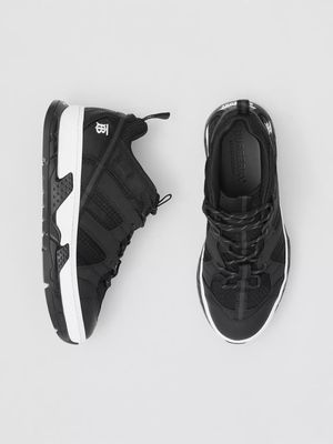 BURBERRY Mesh and Nubuck Union Sneakers for Sale in Los Angeles, CA