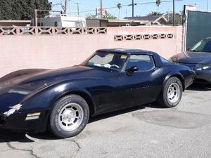1981 chevy Corvette for Sale in Montclair, CA