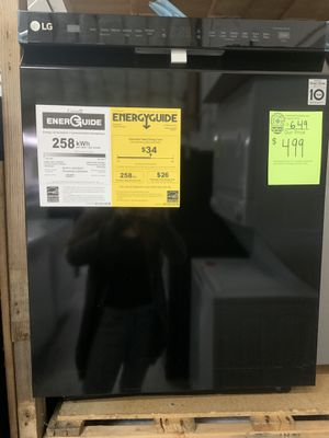 NEW LG BLACK DISHWASHER for Sale in Raleigh, NC