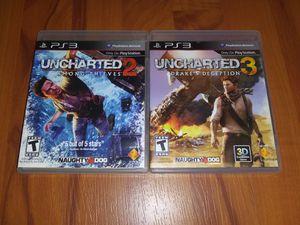 Uncharted Bundle (2&3) for Sale in Saddle Brook, NJ
