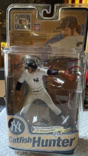 New York Yankees VHTF McFarlane Catfish Hunter Bronze Level Action Figure #'d/2000 for Sale in El Paso, TX