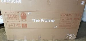 """75"""" SAMSUNG FRAME SMART TV 4K CLEARANCE PRICE!!! for Sale in Lakewood, CA"""