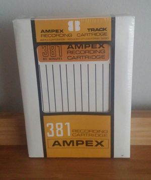 381 Ampex 8 Track Recording Tapes/Total Of 5 for Sale in Gaithersburg, MD