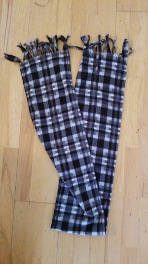 Fringe Balck Plaid Scarf for Sale in Salisbury, NC