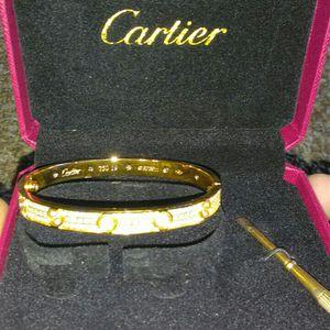 Cartier Love Bracelet (Iced Out) for Sale in Beltsville, MD