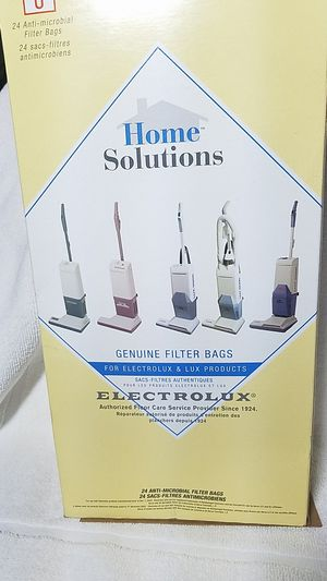 Vacuum bags Style U For Electrolux and Aerus for Sale in San Diego, CA