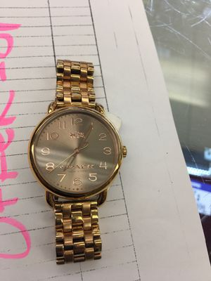 Coach wrist watch for Sale in Pasadena, TX