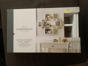 White Interlocking Wall Shelf form Target for Sale in San Pablo, CA