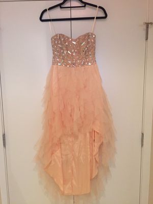 Peach high low dress by Arden B. Size 2 for Sale in Alexandria, VA