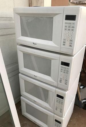 Whirlpool microwaves (4)4 for Sale in El Cajon, CA