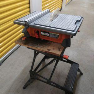Ridgid Wet Saw. for Sale in Graham, WA