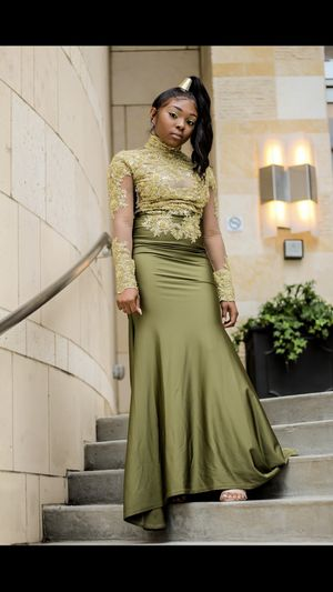 Olive green Prom dress for Sale in Nashville, TN
