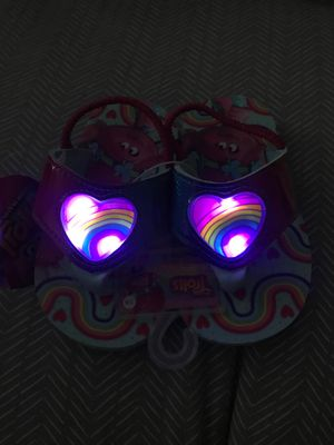 Brand new trolls light up sandals size 7/8 for Sale in Fresno, CA