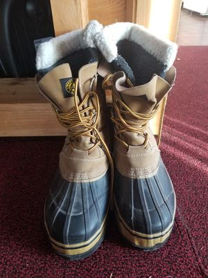Men's Winter Snow Boot Excellent Condition Size 10 for Sale in ROXBURY CROSSING, MA