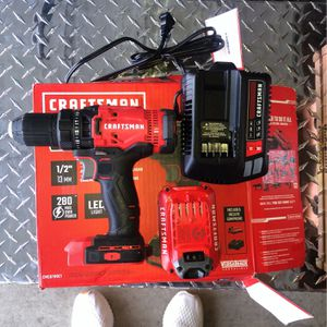 Craftsman Drill/driver Set for Sale in Fresno, CA