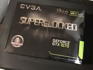 EVGA Superclocked GEFORCE GTX 1070 for Sale in Safety Harbor, FL