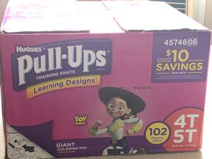 Pull-up training pants size 4t-5t for Sale in Charlotte, NC