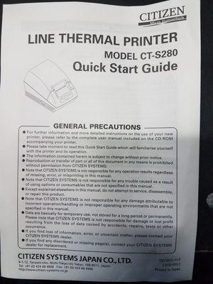 Thermal Receipt Printer for Sale in Monroe, WA