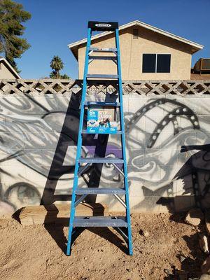 Werner 8 ft fiberglass ladder!! for Sale in Las Vegas, NV