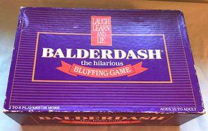 Vintage Balderdash Board Game All Original 1984 for Sale in Medford Lakes, NJ