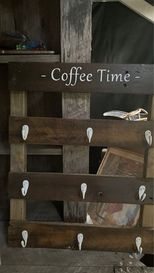 Coffee rack for Sale in Cohutta, GA