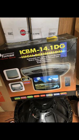 PERFORMANCE TEKNIQUE CAR CEILING TV MONITOR for Sale for sale  Bronx, NY