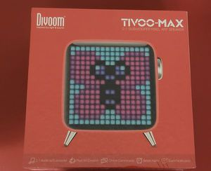 Divoom Tivoo Max 40W Premium Retro Pixel Bluetooth Speaker with 16X16 LED Customized Front Panel for Sale in San Diego, CA