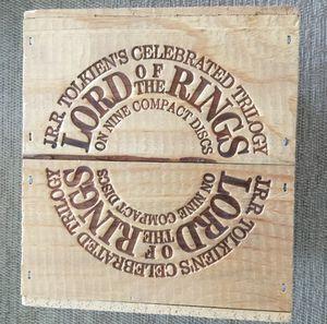 Lord of the Rings Audio CD box Set for Sale in Glen Ridge, NJ
