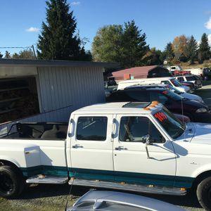 Ford F350 Crew Cab 7.3L Turbo Diesel, Lo Miles for Sale in Burlington, WA