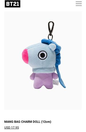Mang Bag Charm for Sale in Los Angeles, CA