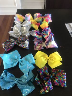 Jojo siwa bows for Sale in Campton Hills, IL