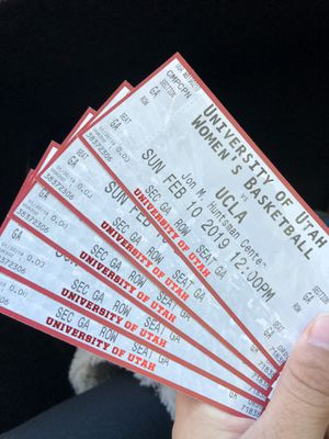 Utah Tickets-Women's game for Sale in Salt Lake City, UT