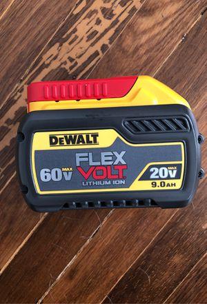 DEWALT battery 60v max flex volt * 9AH * for Sale in San Jose, CA