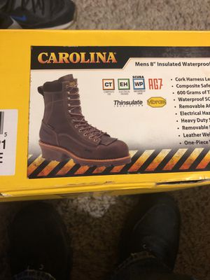 Carolina work boots for Sale in Southfield, MI