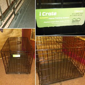 Small 2 Door Midwest iCrate Dog Crate for Sale in Adams, NY