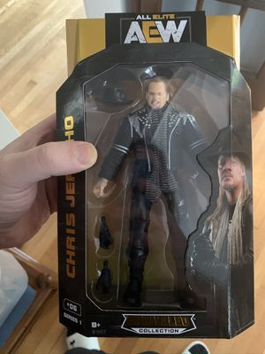 Brand New Chris Jericho AEW Action Figure for Sale in Washington, DC