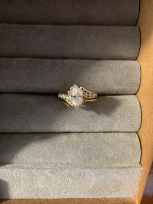 14k Gold Diamond ring cert. for Sale in Phoenix, AZ