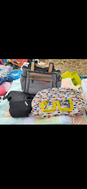 Diaper bag, baby carrier and shopping car cover for Sale in San Antonio, TX