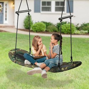 Adjustable Oval Platform Swing Set w/ Handle for Kids Outdoor Fun for Sale in Los Angeles, CA