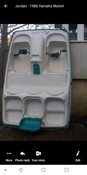 5 person aquatoy paddle boat for Sale in Parkersburg, WV
